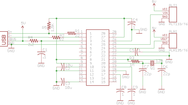 SPDIF Sound Card Schematic